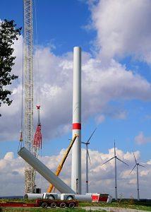 Opsætning af vindmøller