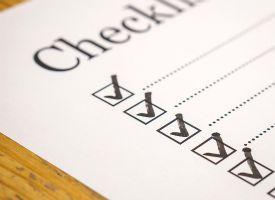 Checkliste til kvalitetskontrol og dokumentation