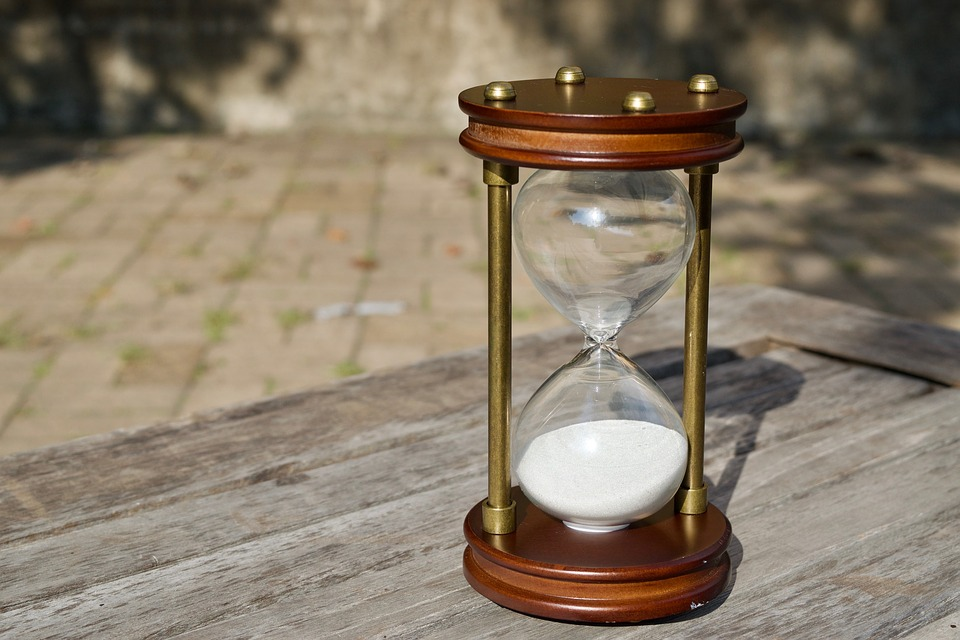 timeglas - tid - timemanagement