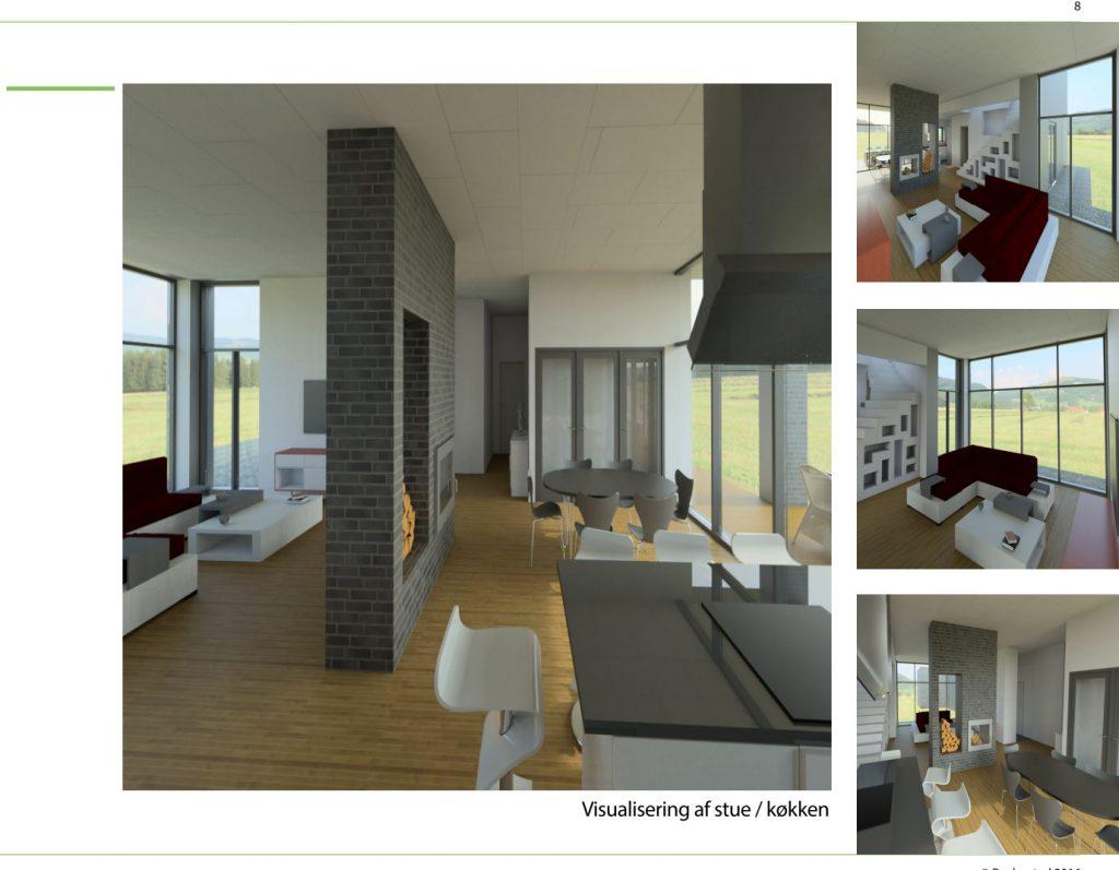 3D Visualisering af boligindretning