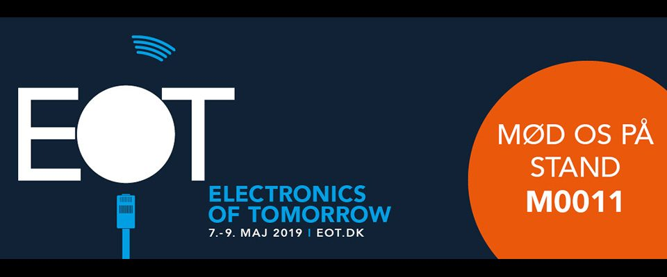 Bygkontrol paa Electronics of Tomorrow - EOT messe 2019