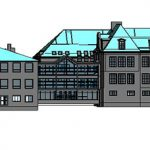 3D modellering af skole