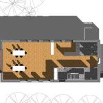 Visualisering projektering plantegning GF Forsikring Bygkontrol