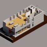 3D Visualisering projektering 1 sal GF Forsikring Bygkontrol