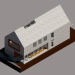 Visualisering projektering udefra GF Forsikring Bygkontrol