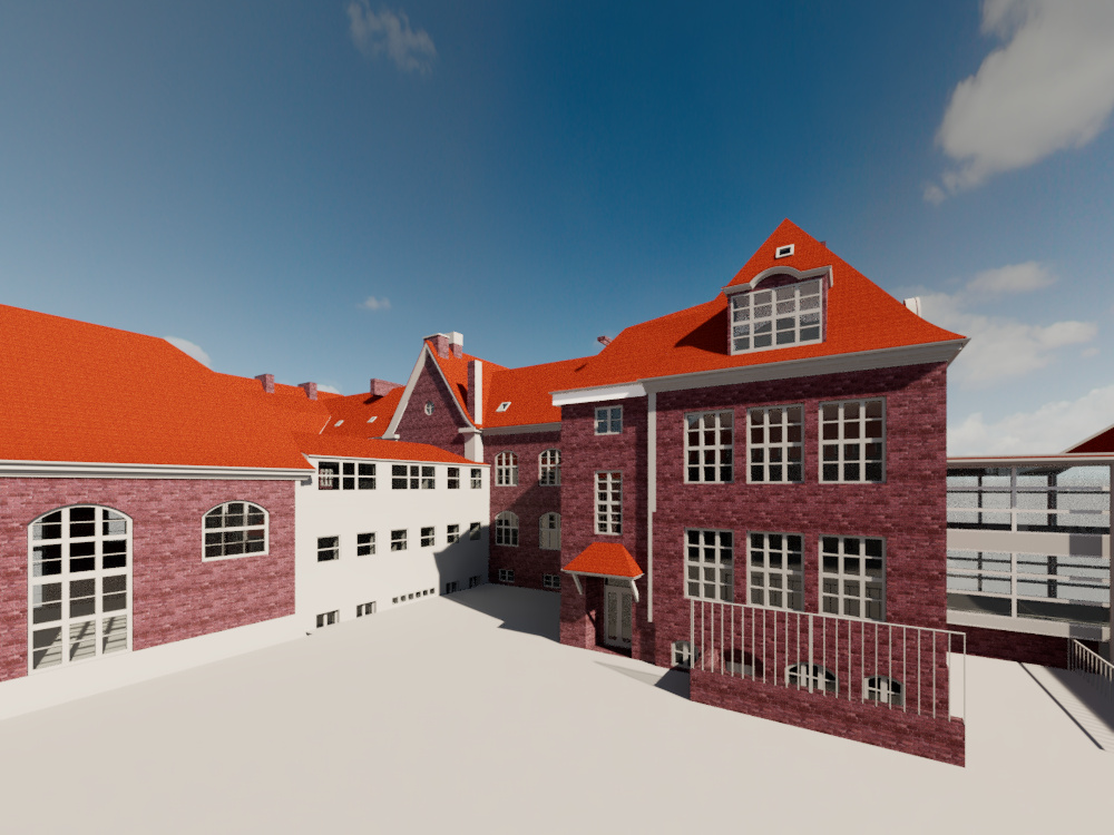 Ørkildskolen visualisering Facility Management