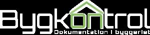 Bygkontrol logo hvid