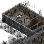 Visualisering-udvalgt areal 3D scan to BIM Olav de Linde